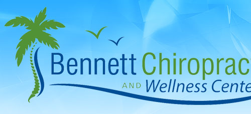 bennett chiropractic logo with birds and trees